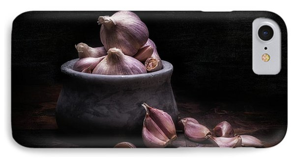 Bowl Of Garlic IPhone Case by Tom Mc Nemar