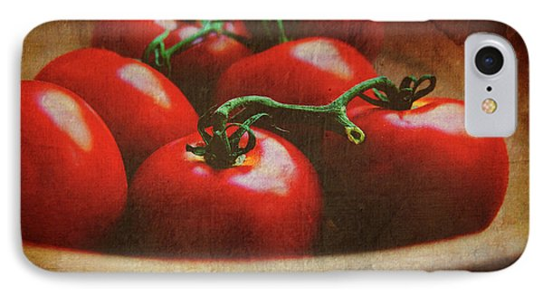 Bowl Of Tomatoes Phone Case by Toni Hopper