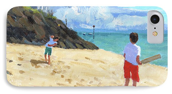 Bowling And Batting, Abersoch IPhone 7 Case