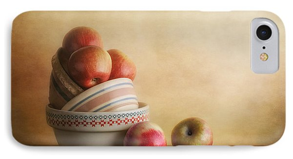 Bowls And Apples Still Life IPhone Case by Tom Mc Nemar