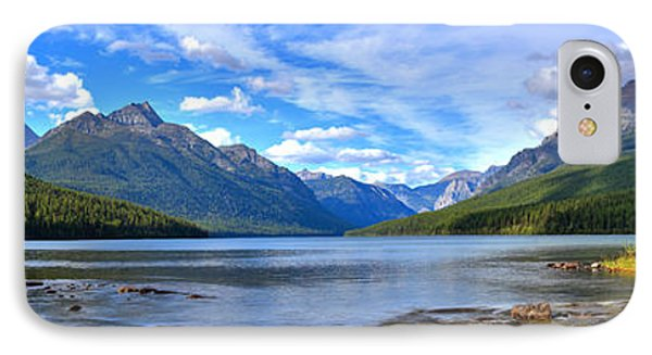 Bowman Lake Panorama IPhone Case by Adam Jewell