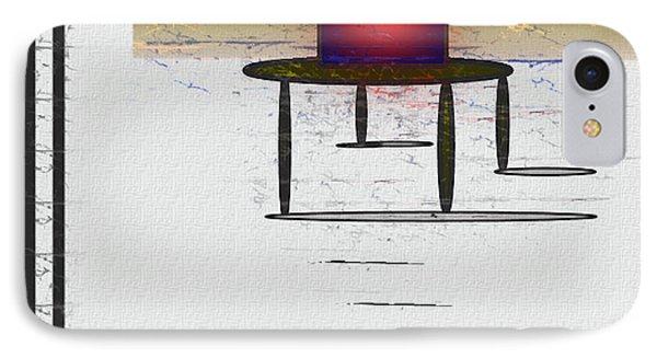 Box On A Table IPhone Case by John Krakora