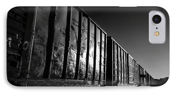 Boxcar Sunrise Phone Case by Bob Orsillo