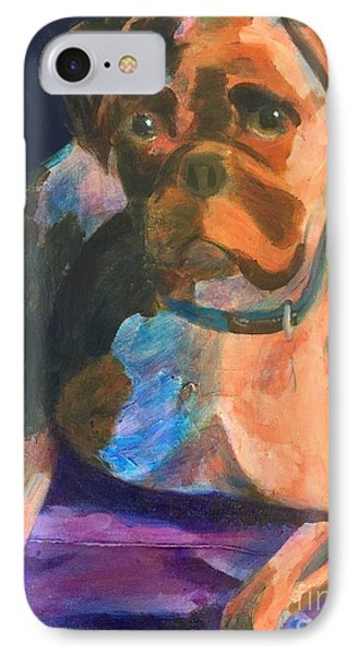 Boxer IPhone Case by Donald J Ryker III