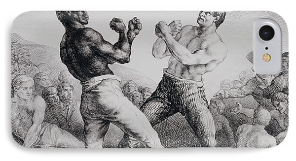 Boxers IPhone Case by Theodore Gericault