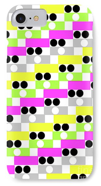 Boxes And Spots IPhone Case