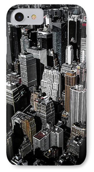 Boxes Of Manhattan IPhone Case by Nicklas Gustafsson