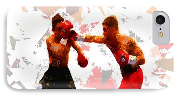 IPhone Case featuring the painting Boxing 113 by Movie Poster Prints