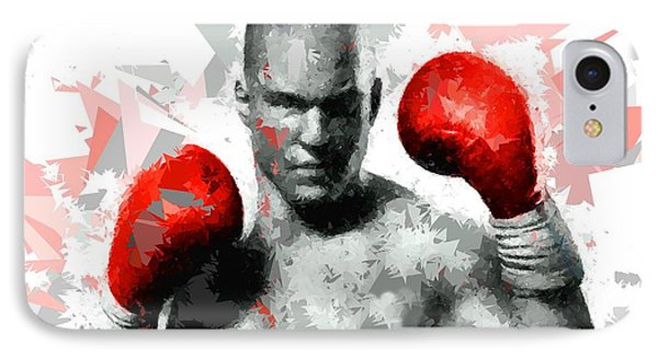 IPhone Case featuring the painting Boxing 114 by Movie Poster Prints