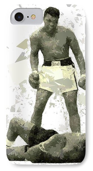 IPhone Case featuring the painting Boxing 115 by Movie Poster Prints