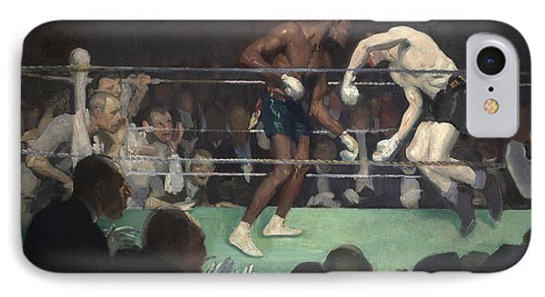 Boxing Match Phone Case by George Luks