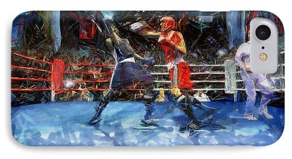 Boxing Night Phone Case by Murphy Elliott