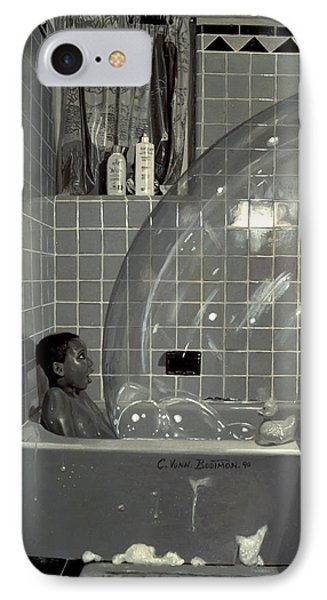 Boy And The Bubble IPhone Case by Colin Bootman