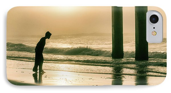 IPhone Case featuring the photograph Boy At Sunrise In Alabama  by John McGraw