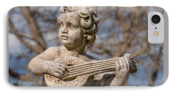 Boy Lute Statue IPhone Case by Billy Soden
