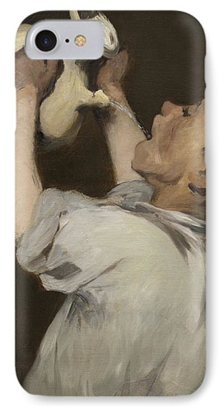 Boy With Pitcher IPhone Case by Edouard Manet