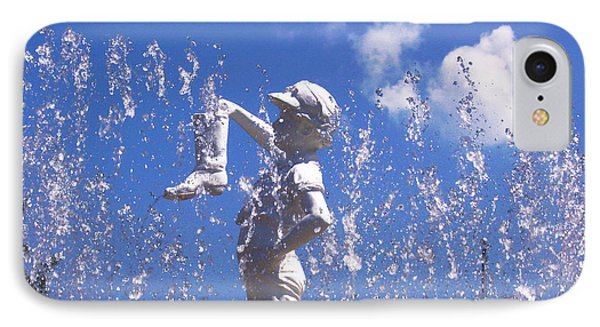 IPhone Case featuring the photograph Boy With The Boot by Shawna Rowe