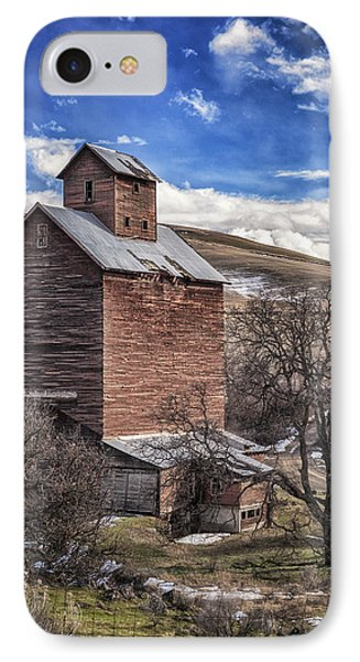 IPhone Case featuring the photograph Boyd Flour Mill by Cat Connor