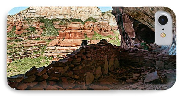 Boynton Canyon 05-1019 IPhone Case by Scott McAllister