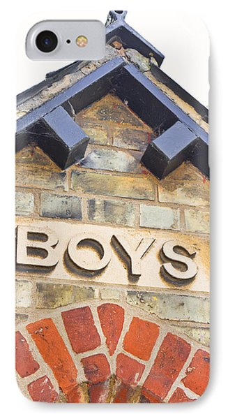 Boys' Entrance IPhone Case by Tom Gowanlock