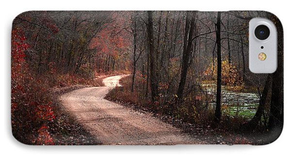 Boz Mill Road IPhone Case by Bill Stephens