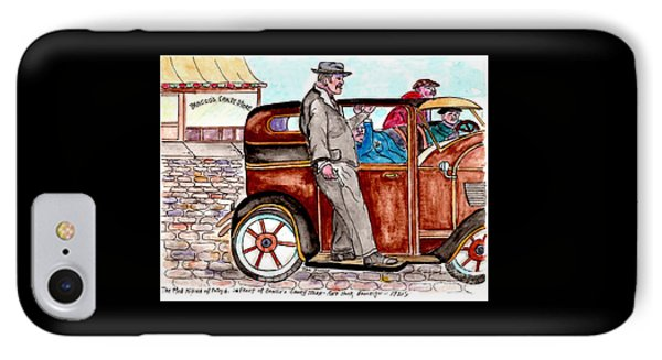 Bracco Candy Store - Window To Life As It Happened IPhone Case by Philip Bracco