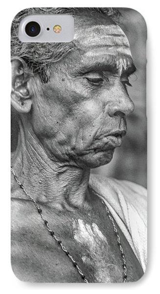 Brahmin Priest - Bw IPhone Case by Steve Harrington
