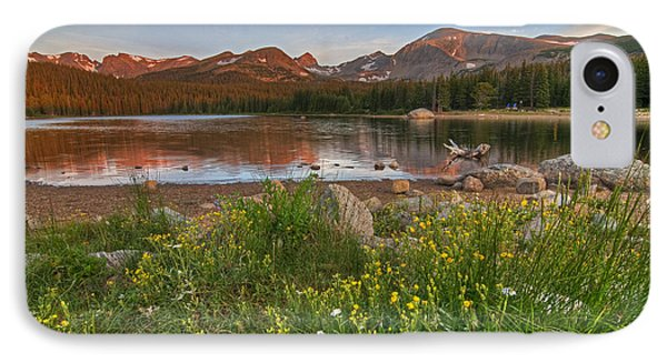IPhone 7 Case featuring the photograph Brainard Lake by Gary Lengyel