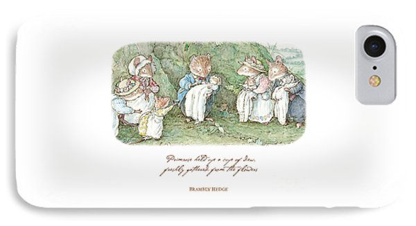Brambly Hedge Naming Ceremony IPhone Case by Brambly Hedge
