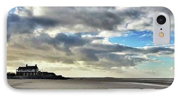 Brancaster Beach This Afternoon 9 Feb IPhone Case by John Edwards