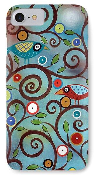 Branch Birds IPhone Case by Karla Gerard