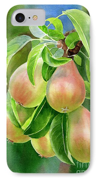 Branch Of Bronze Pears IPhone Case