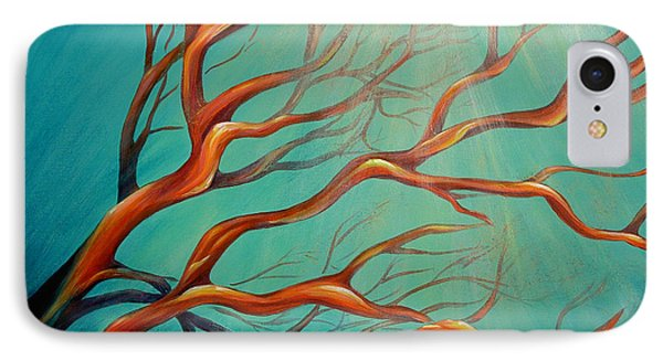 IPhone Case featuring the painting Branching Out by Dina Dargo