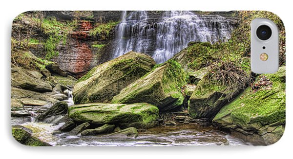Brandywine Falls IPhone Case by Brent Durken