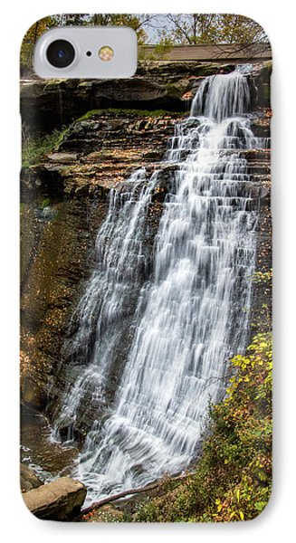 Brandywine Falls IPhone Case by Tom Mc Nemar