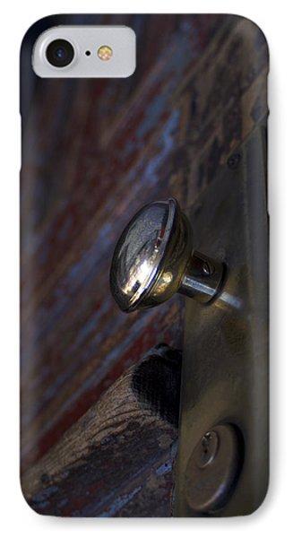 Brass Door Knob I IPhone Case