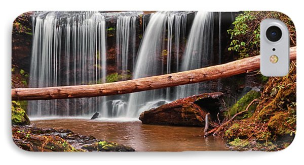 Brasstown Falls 002 IPhone Case