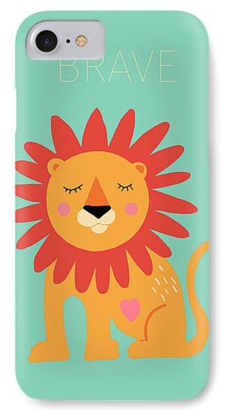 Brave IPhone Case by Nicole Wilson