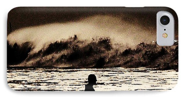 Braving A Storm IPhone Case