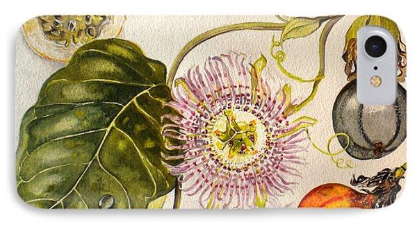 Brazilian Passion Fruit             Passiflora Ligularis Seme IPhone Case