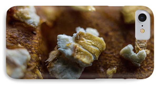 IPhone Case featuring the photograph Bread Macro Food by David Haskett