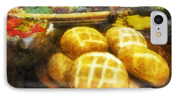 Bread Table IPhone Case by Francesa Miller