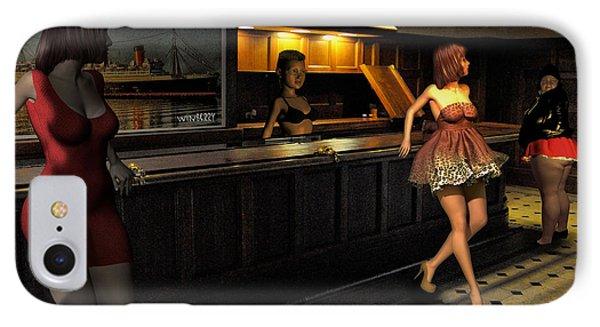 Breaker Bar Girls Phone Case by Bob Winberry