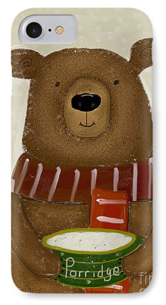 Breakfast For Bears IPhone Case by Bri B