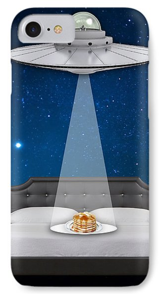 Breakfast In Bed Art IPhone Case by Marvin Blaine