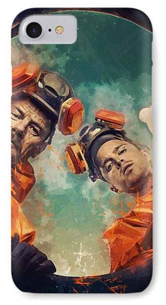 Breaking Bad  IPhone Case by Afterdarkness