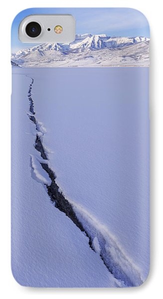Breaking Ice Phone Case by Chad Dutson