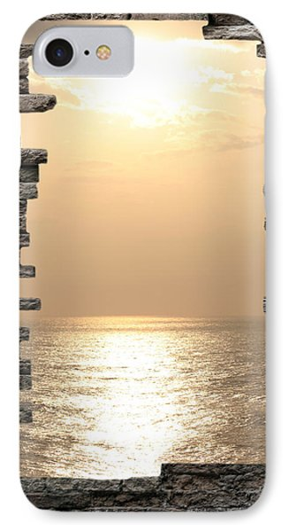 Breaking The Wall IPhone Case by Angel Jesus De la Fuente