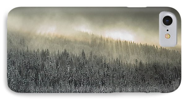 Breaking Through The Darkness IPhone Case by Joy McAdams