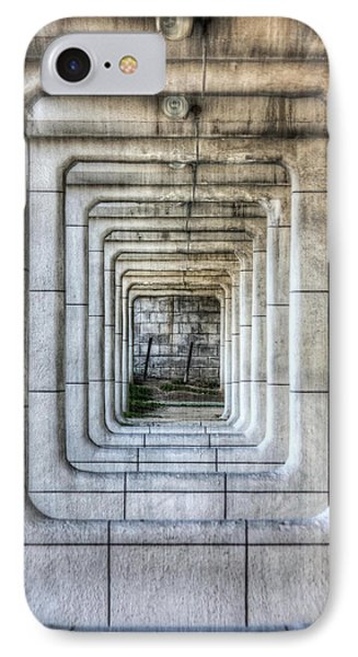 Breaking Through The Forth Wall Phone Case by David LaSpina